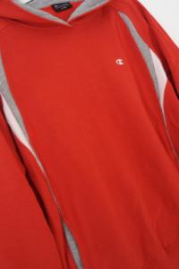 Champion śliczna bluza kolor czerwono szary...