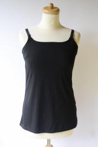 Bluzka Koszulka Czarna Lindex 40 42 L XL Do Karmienia