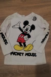 Biała bluzka dziecięca z Myszką Mickey...