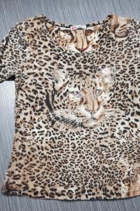 Bawełniana bluzka ze zdobieniami...