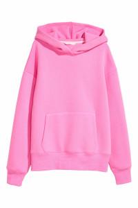 bluza różowa H&M ciepła xs oversize...