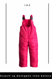 Wodoodporne ciepłe spodnie zimowe 9298104110116122128