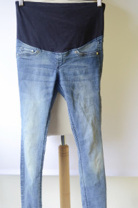 Spodnie H&M Mama Rurki Ciążowe M 38 Super Skinny Jeans...