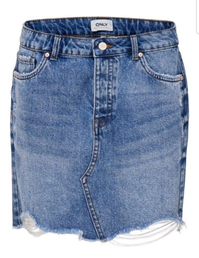 Spódnice Only spódnica damska jeans