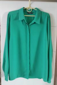 Świetna zielona koszula roz 46