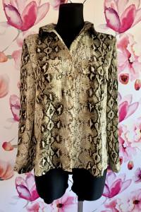 Ivivi koszula modny wzór węża skóra jak nowa hit blog 36...