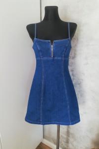 Jeansowa sukienka Tatuum...