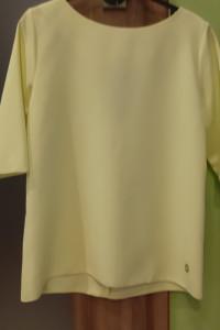 Limonkowa elegancka wizytowa bluzka...