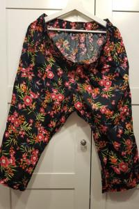 Spodnie w kwiaty Bonmarche 5XL