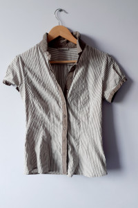 Koszula z krótkim rękawem z bawełną...