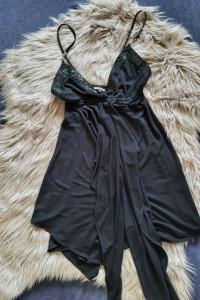 River Island Tunika sukienka dodatki na szelkach UK 8 rozmiar 3...