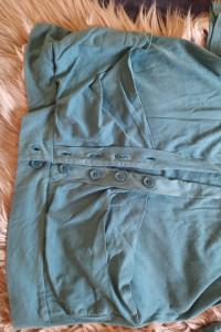 Tunika bluzka dluga szmaragdowa 12...
