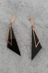 Kolczyki trójkąty...