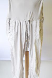 Spodnie Gumki H&M Mama M 38 Beżowe Beż Ciążowe Mom...