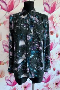 Marks&spencer koszula ciekawy wzór kosmos nowa 36...
