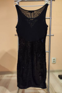 Sukienka czarna cekiny rozmiar 36...