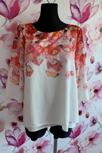 Wallis bluzka modny wzór i fason kwiaty nowa hit 42