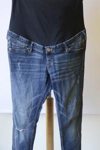 Spodnie H&M Mama XXL 44 Przetarcia Skinny Dziury Rurki Jeansy