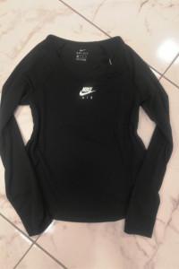 Czarny top z nadrukiem na plecach Nike oryginalny siłownia sportowy