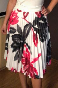 Spódnica plisowana Next 36 S kwiaty