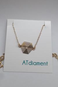 Złota bransoletka ATdiament