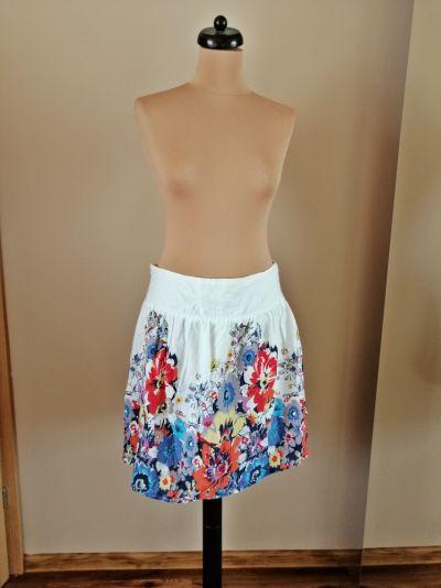 Spódnice spodnica kwiatowa 42