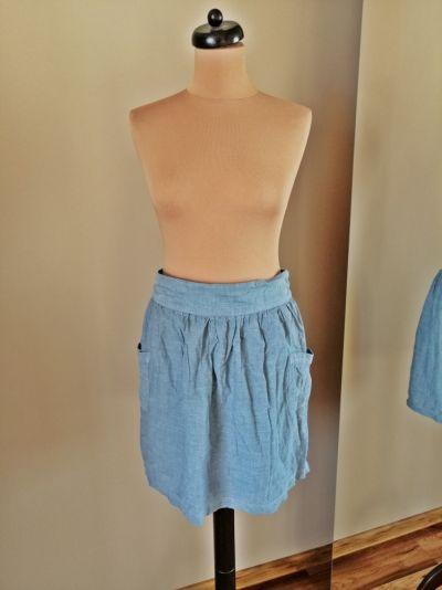 Spódnice spodniczka ala jeans 42