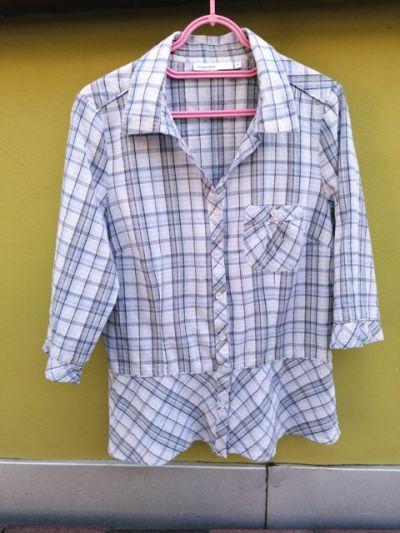 Bluzki koszula w kratkę
