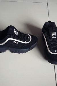 Czarne buty Fila rozmiar 35...