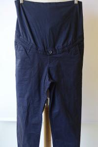 Spodnie H&M Mama S 36 Granatowe Ciążowe Ciąża Brzuszek...