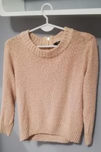 Sweter łososiowy M...