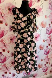 Atmosphere sukienka midi modny wzór kwiaty hit 34...