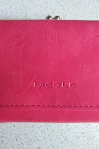 NICOLAS portfel damski czerwony wysyłka 0zł