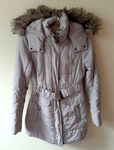 Odzież wierzchnia Płaszcz kurtka beżowy zimowy Camaieu M