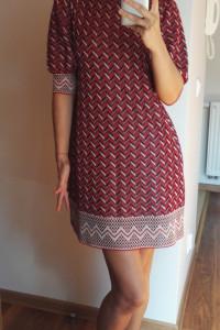 Sukienka we wzory ZARA 36...