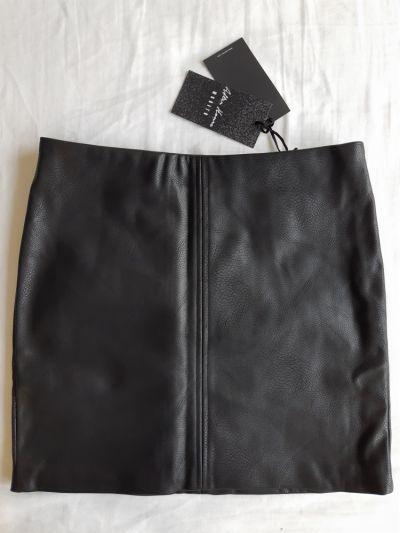 Spódnice Spódnica mini MOHITO sztuczna skóra