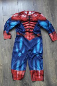 Spiderman strój przebranie 98 104