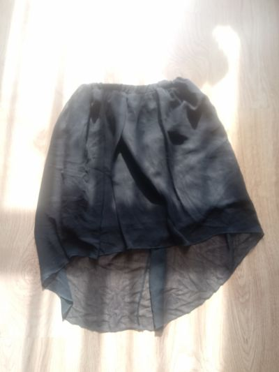 Spódnice Nowa czarna spódniczka asymetryczna