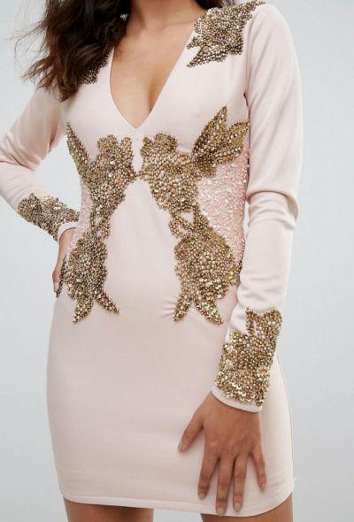 Suknie i sukienki Sukienka A Star Is Born bogato zdobiona rozmiar L