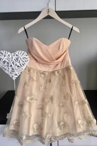 Balowa Gorsetowa Sukienka Tiulowa...