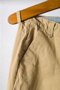 beżowe spodnie...