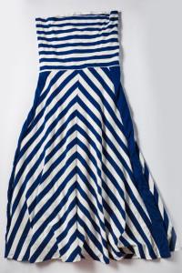 marynarska sukienka...