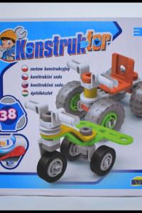 Dromader Zestaw Konstrukcyjny Konstruktor 2W1 38 elementów