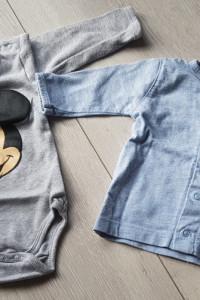 Zestaw body Disney i kaftanik