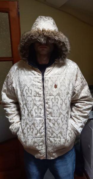 Kurtki i płaszcze Dwustronna puchowa kurtka L