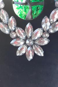 naszyjnik krysztalkowy kwiat