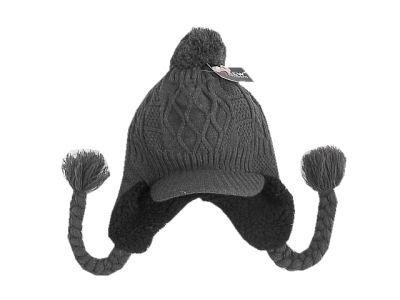 Czapki Ta New czapka zimowa ocieplana szara 5 lat