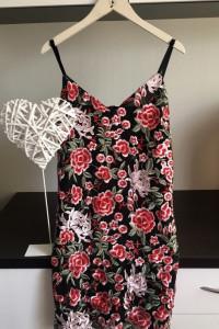 Koronkowa Krótka Sukienka L...