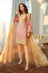 Nowy indyjski strój S 36 salwar kameez dupatta ślub Bollywood k...