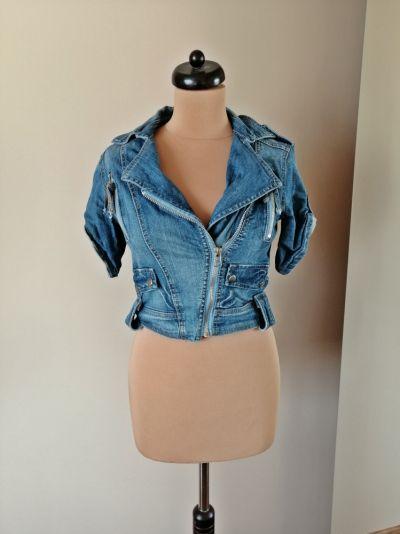 Odzież wierzchnia ramoneska jeans